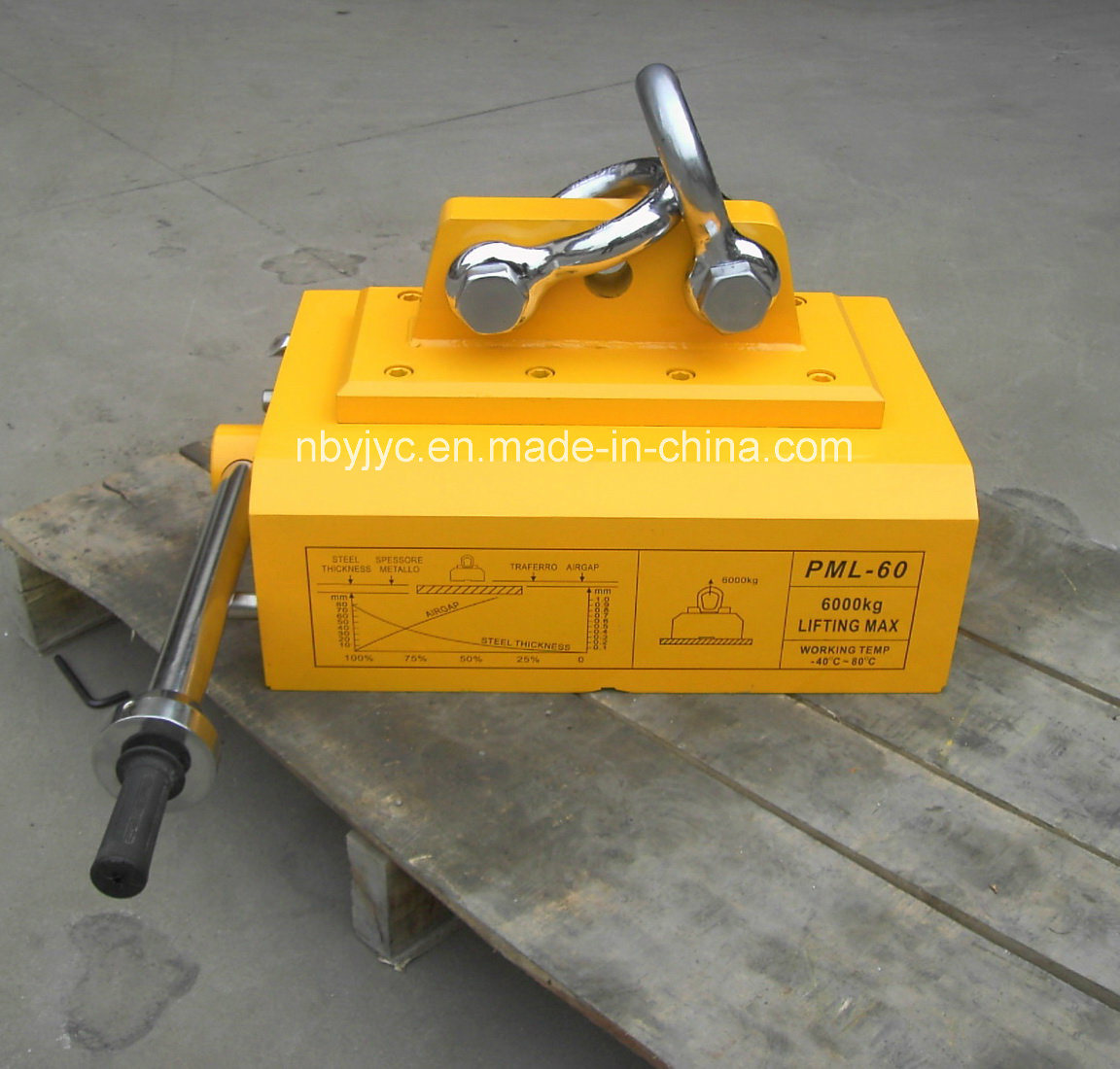 Improved Heavy Loading Magnetic Lifter with Patent