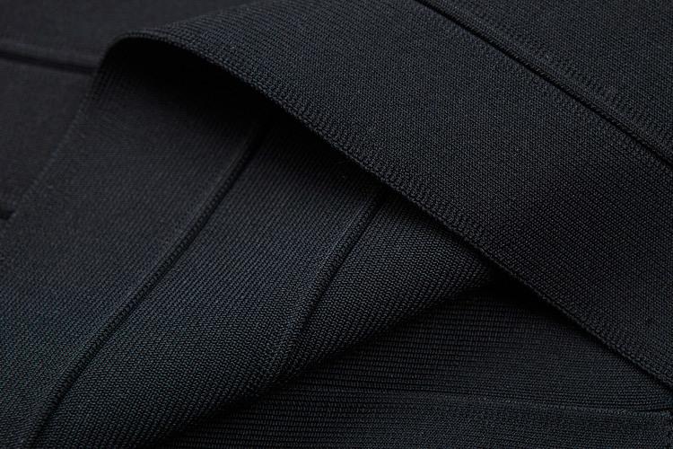 Black Women Casual Bandage Sleeveless Dresses