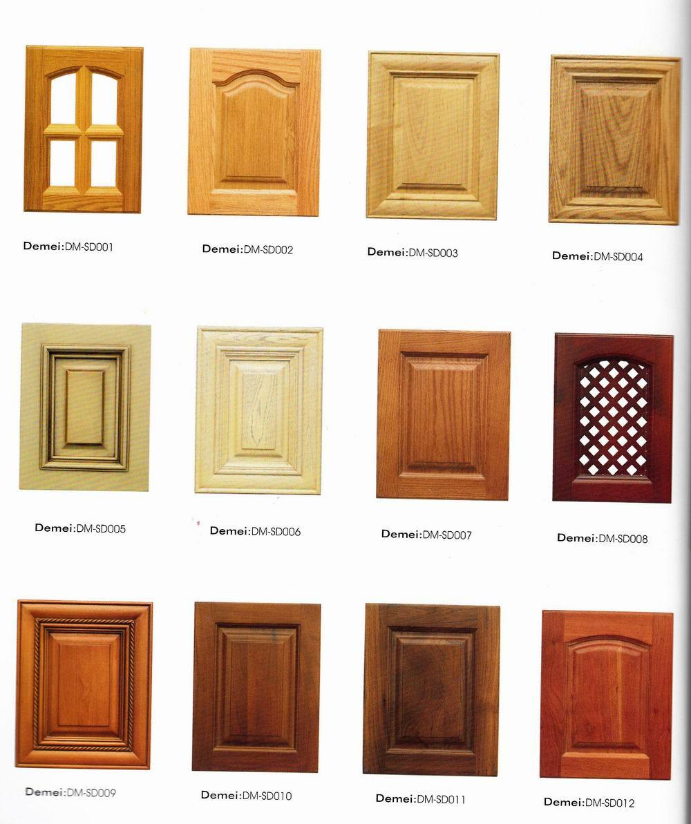 China Solid Wood Kitchen Cabinet Door Panel