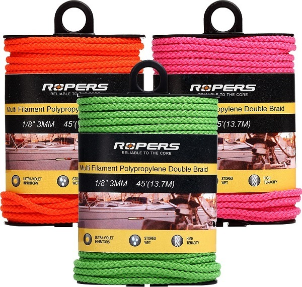 "1/8""X45FT Ropers Customizable C33 Multifunctional Ropes"