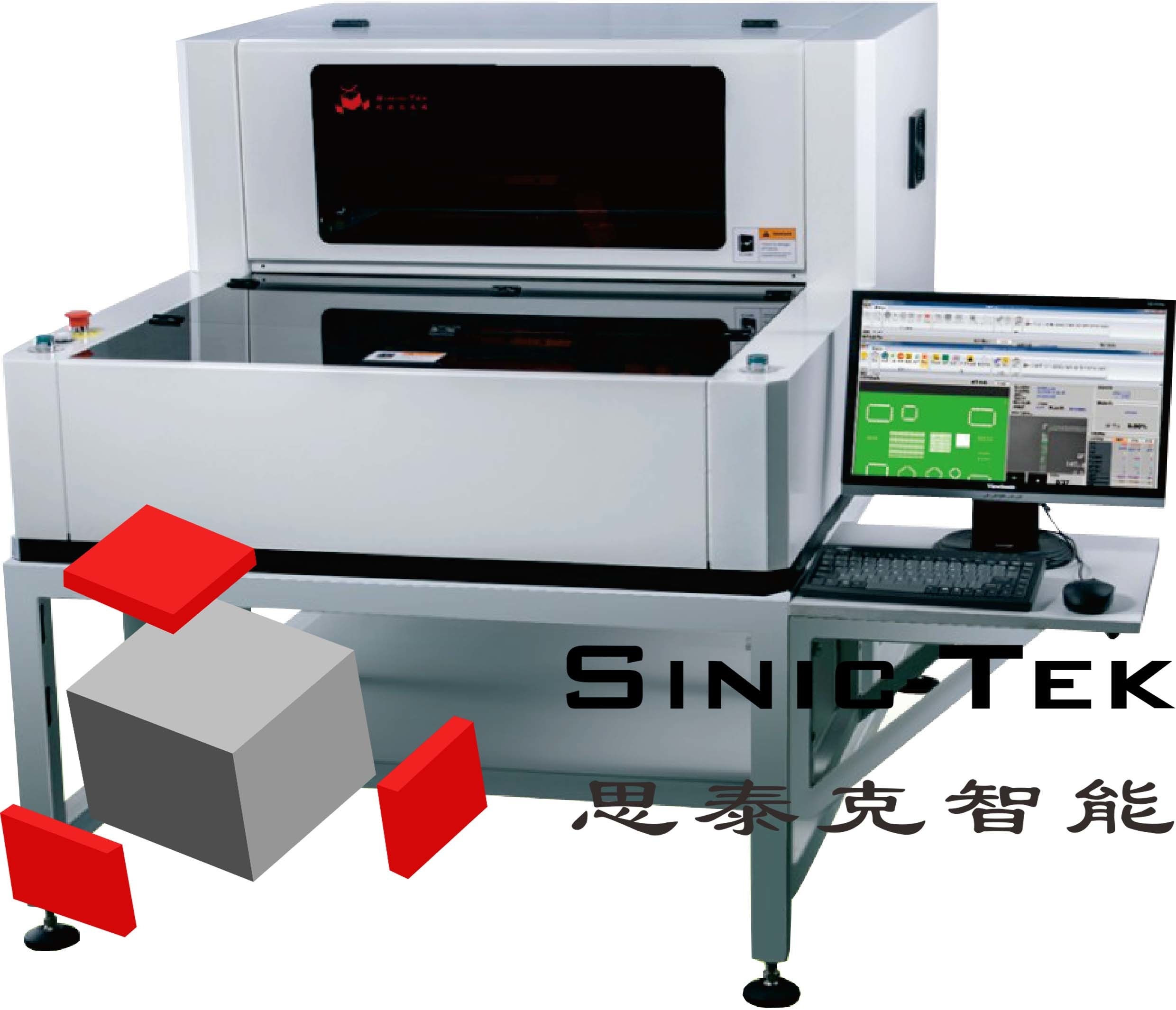 3D Solder Paste Inspection Equipment Desktop Spi T-2010A PCB Board