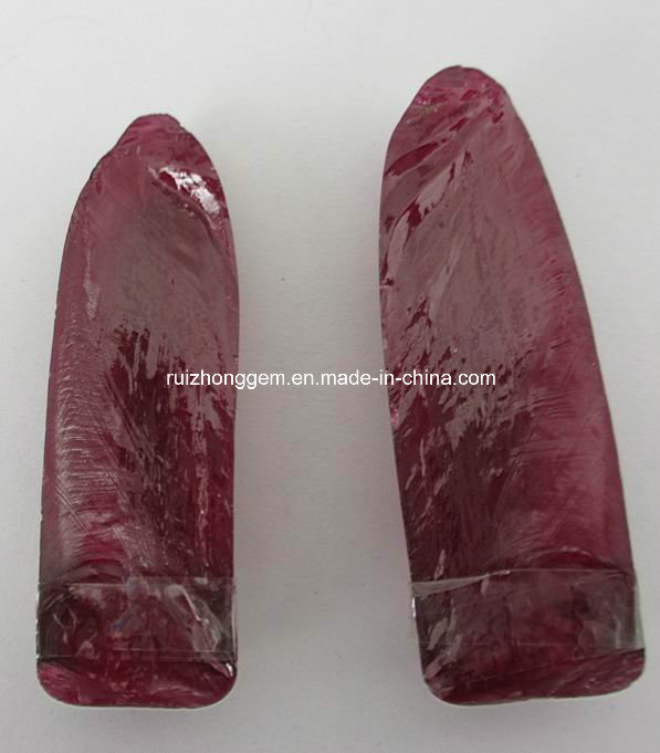 Synthetic Rough Ruby for Industry