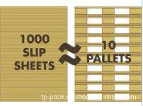Kraft Slip Sheet to Substitute for Pallet