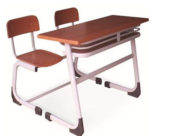 China Double School Desk And Chair Photos Pictures Made In