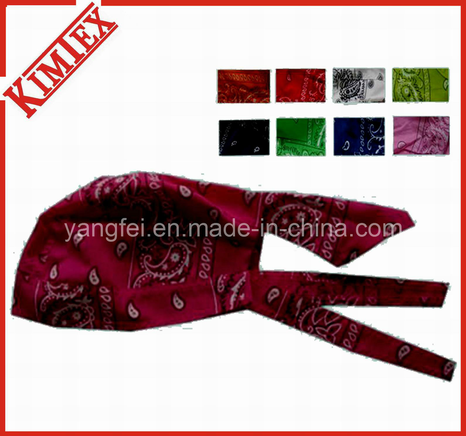 Wholesale Cheap Promotion Cotton Bandana Cap