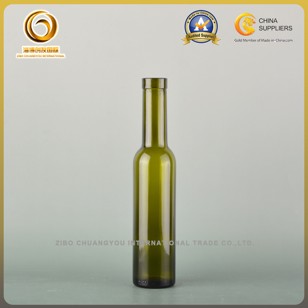 200ml Cork Top Wine Glass Bottle (006)