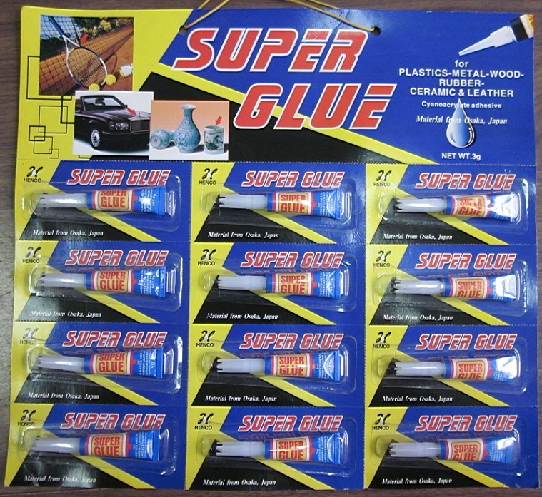 2g or 3G General Purpose Super Glue