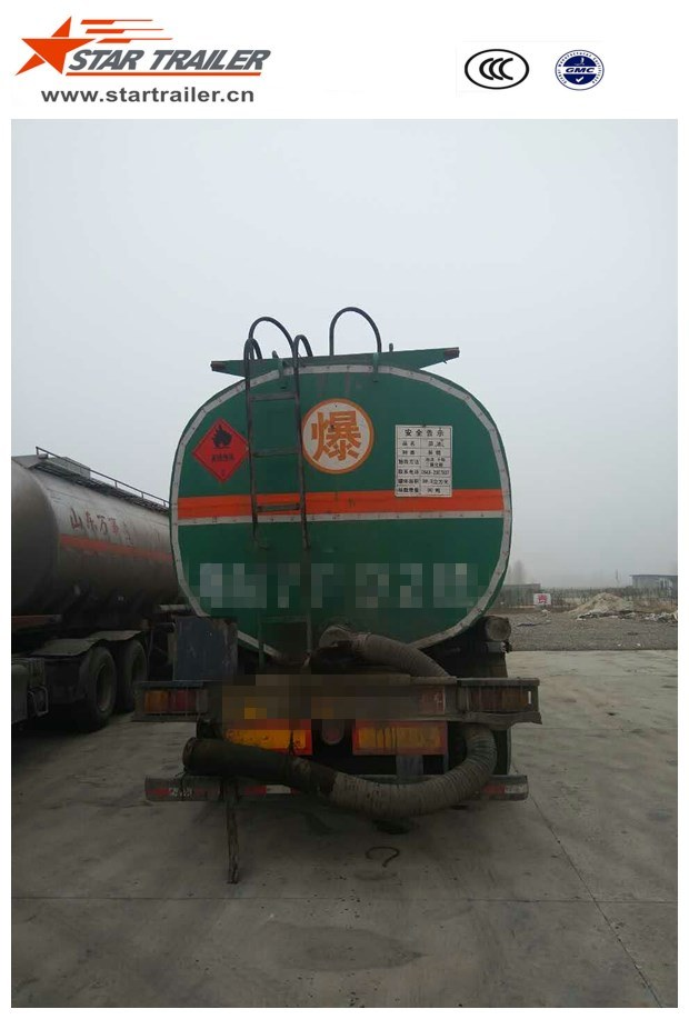 Used 3 Axle Fuel Tank Semi Trailer