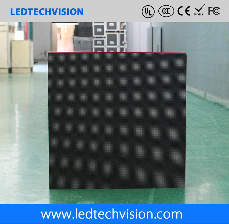 Indoor Rental Brushed-Aluminum LED Display for Stage (P3mm, P4mm, P5mm, P6mm)