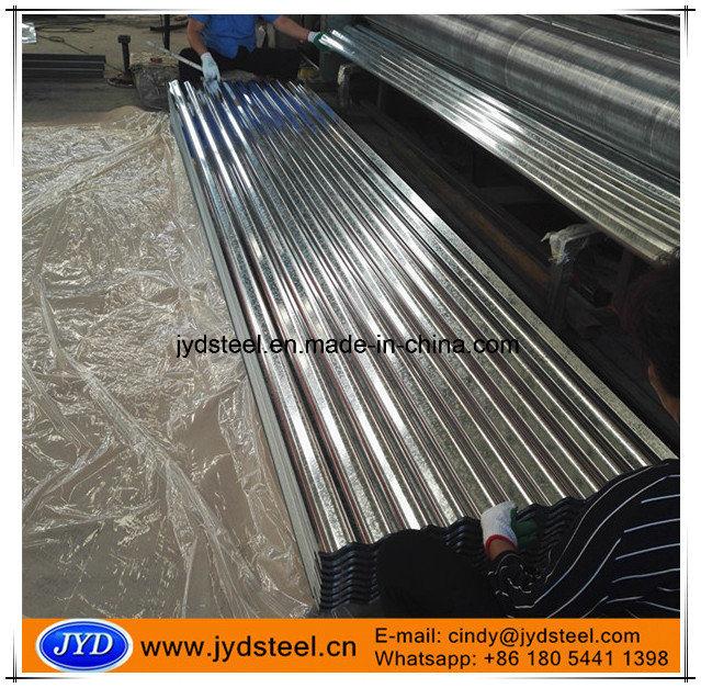 Bwg34 Bhushan Galvanized Corrugated Steel Sheet