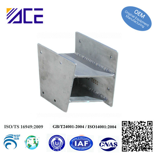 High Quality Stamping Welding Casting Parts Aluminium Cabinet
