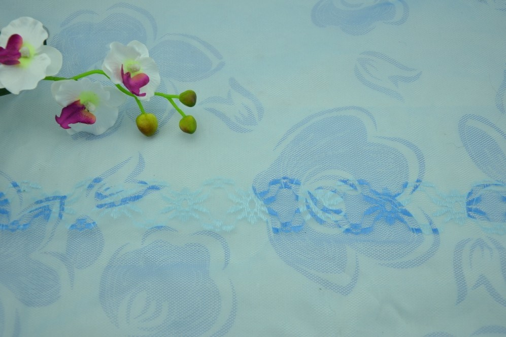 Printed Polyester Jacquard Mosquito Mesh Fabric