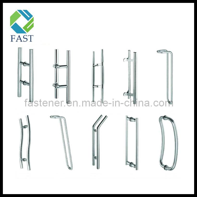 China stainless steel glass door pull handle china door for 1180 2 door pull