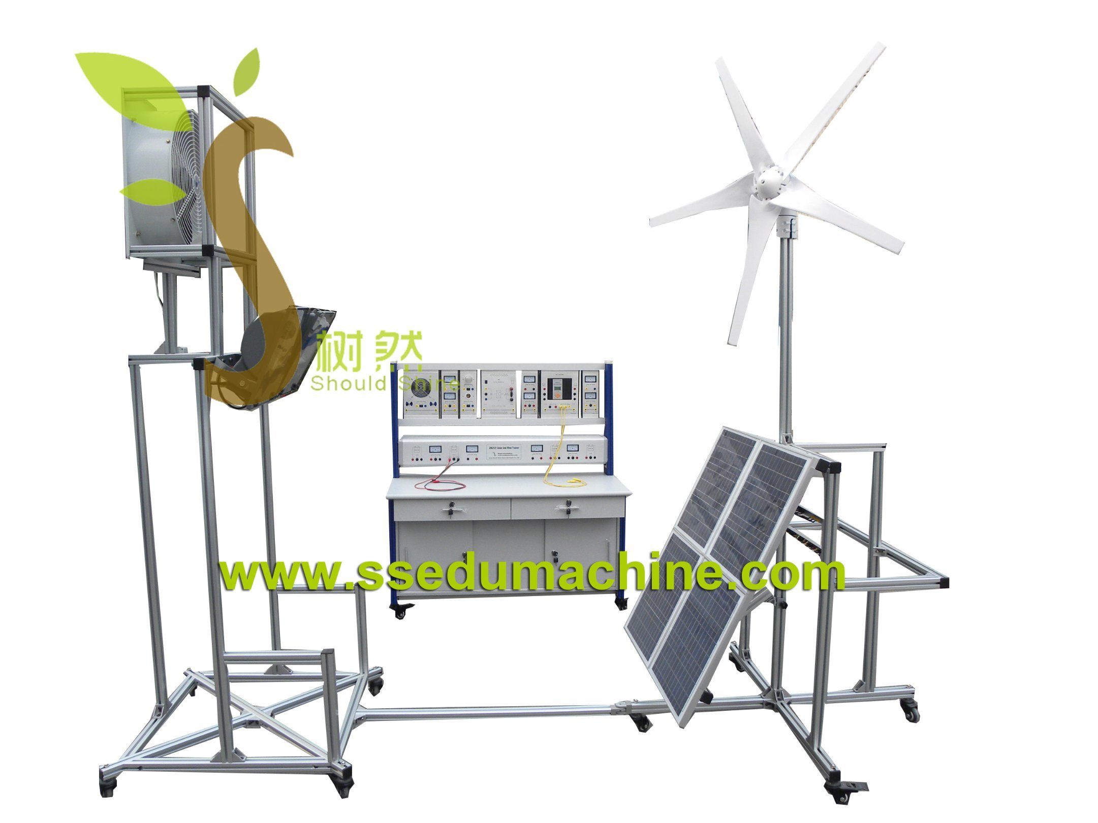 Renewable Training Equipment Solar Wind Trainer Photovoltaic Generation Educational Equipment
