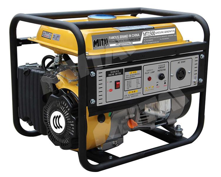 Single Phase Gasoline Generator with Automatic Voltage Regulator