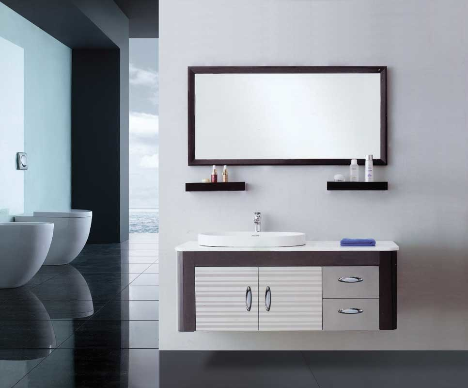 China stainless steel bathroom vanity china stainless steel cabinet s s bathroom cabinet Stainless steel bathroom vanities