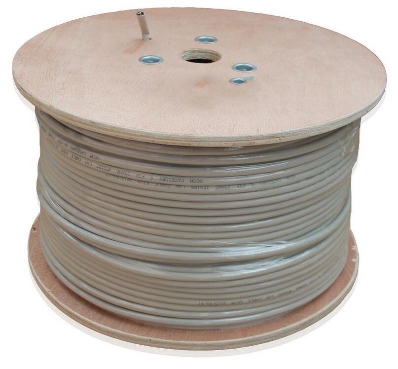 CAT6 Shielded Solid Bulk Cable (F/UTP) PVC 1000FT