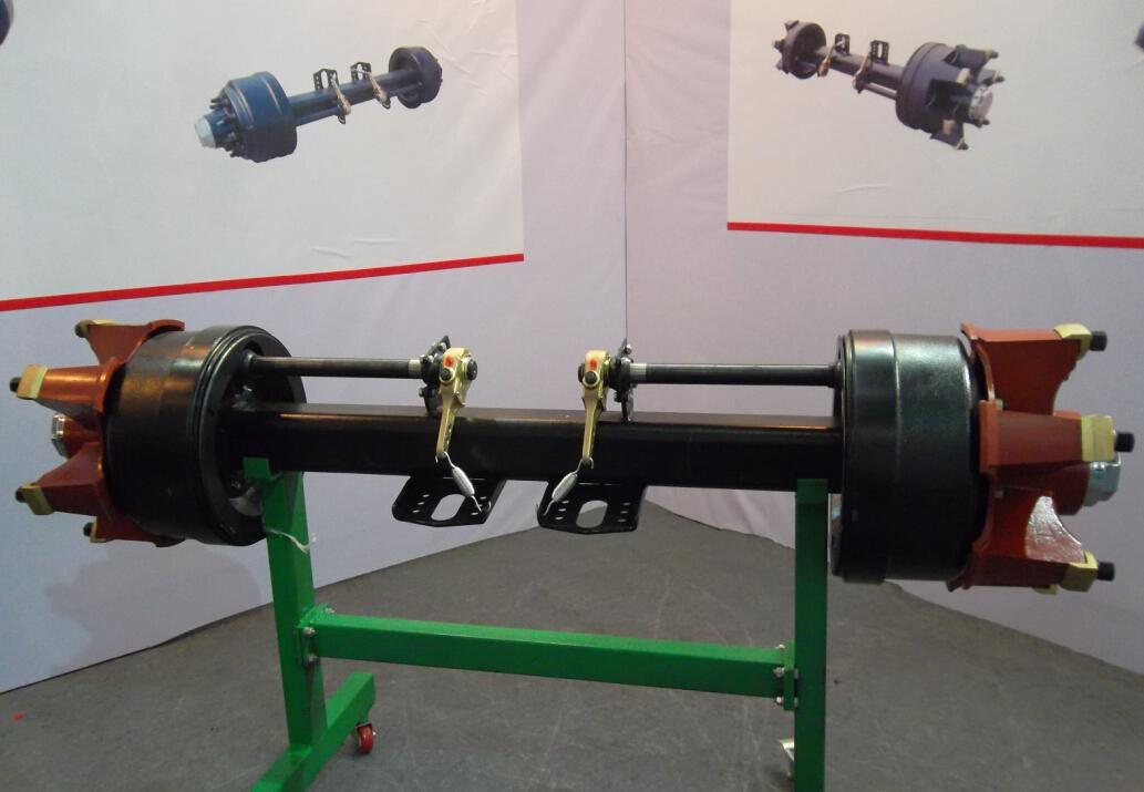 Spokes Semi-Trailer Axle Square Beam Trailer Parts