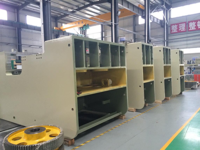 Coil Feeder Die Stamping C Frame Power Press Line
