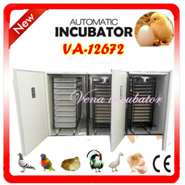 Large Capacity Fully Automatic Chicken Incubator for 12672 Eggs