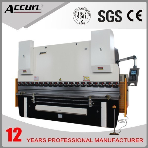 Accurl 2014 New Machinery Hydraulic CNC Brake MB8-250t/3200 Delem Da-66t (Y1+Y2+X+R axis) Bending Machine