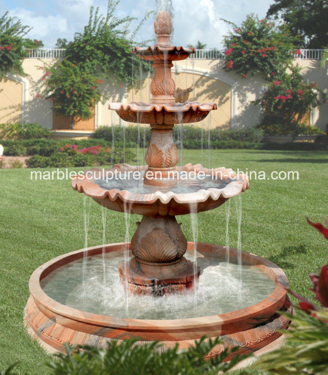 Hot Selling Outdoor Decoration Garden Marble Water Fountain (SY-F107)