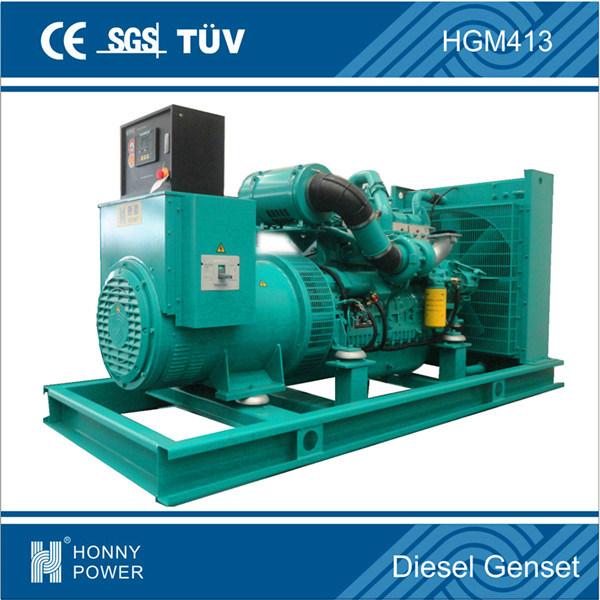 Googol 50Hz Silent Canopy 300kw Diesel Engine Civil Use Genset