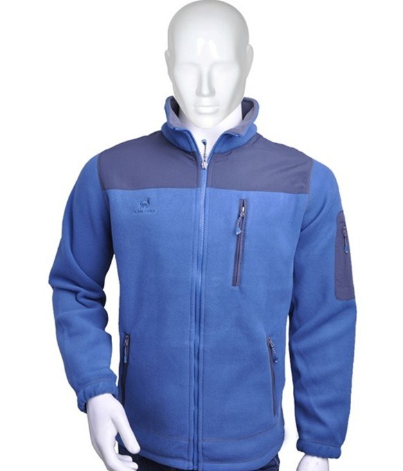 Men′s Full Sport Zipper Polar Fleece Jacket