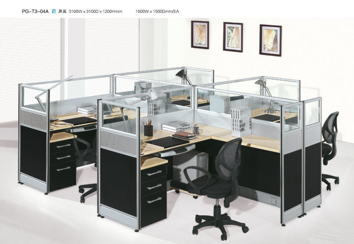 and aluminum office furniture pg t3 04a china high class office