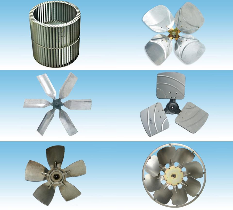 Impeller Fan Blades : China metal impeller fan blade for air conditioning