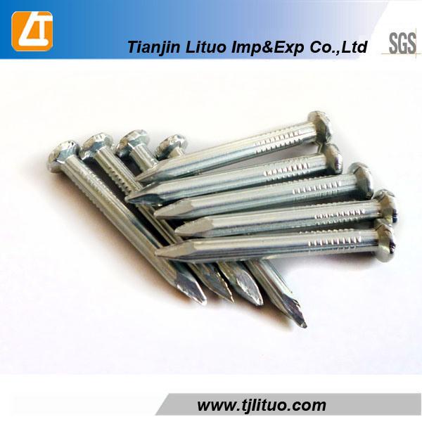 C45 Steel White Galvanized Concrete Nails