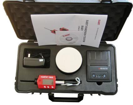 Portable Digital Leeb Hardness Tester with Auto Impact Direction (HARTIP1800)