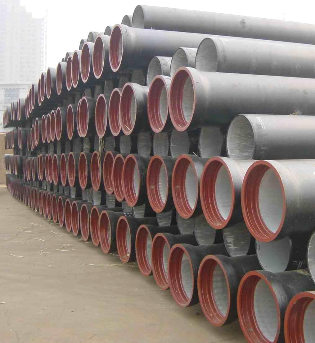 China iso bsen ductile iron pipes