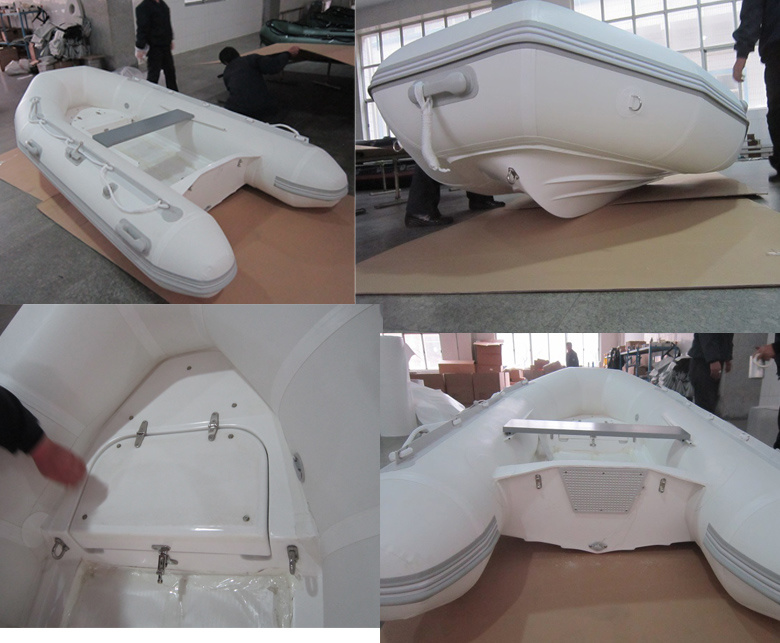 PRO Fiberglass Rigid Inflatable Rib Boat Yacht