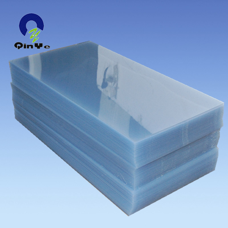 Colorful Offset Clamshell Blister Vacuum Thermoforming Rigid Super Clear PVC Sheet