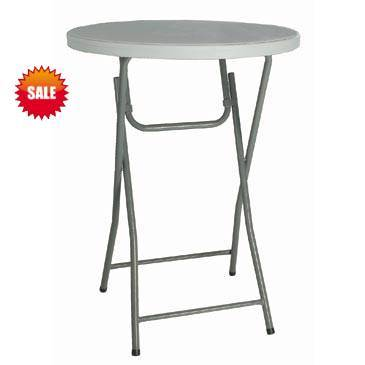 80*110cm Round Folding Bar Table (SY-81Y)