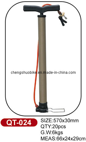 Widely Used Bicycle Pump Qt-024 in Hot Selling
