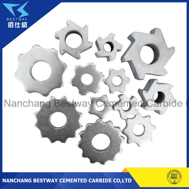 6PT Floor Scarifier Carbide Cutter for Concrete Scarifier