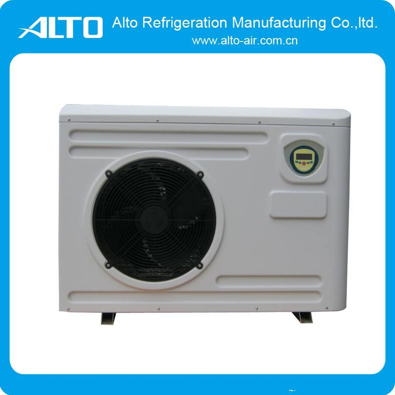 China plastic cabinet heat pump water heater 15kw 20kw for Plastic water heater