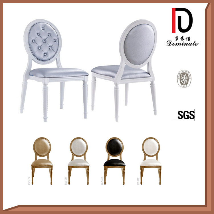 Foshan Wholesale Metal Aluminum Stacking Hotel Restaurant Banquet Chair