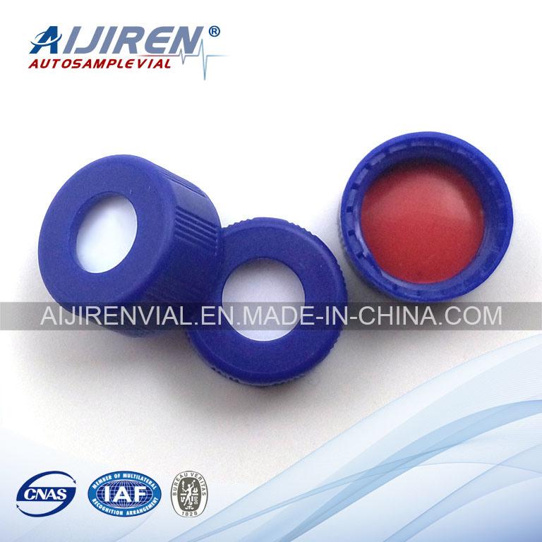 2ml 9-425 Shorter Screw Thread PP Cap with PTFE Septa HPLC Vial 100PCS/Pack