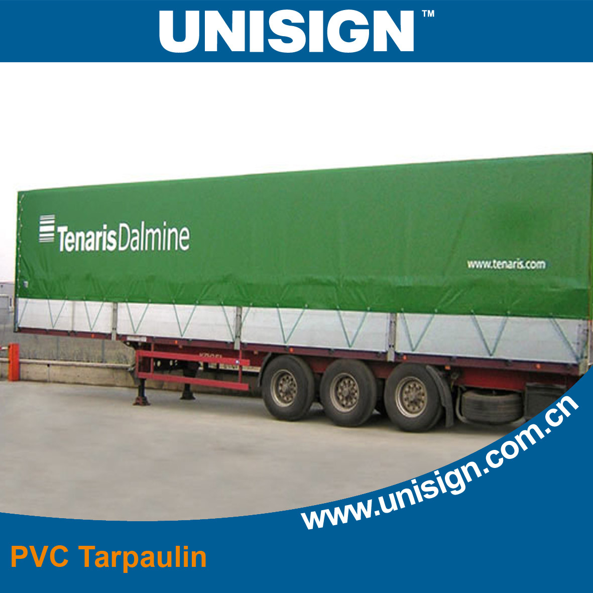 PVC Tarpaulin for Truck Cover (UCT1122/610)