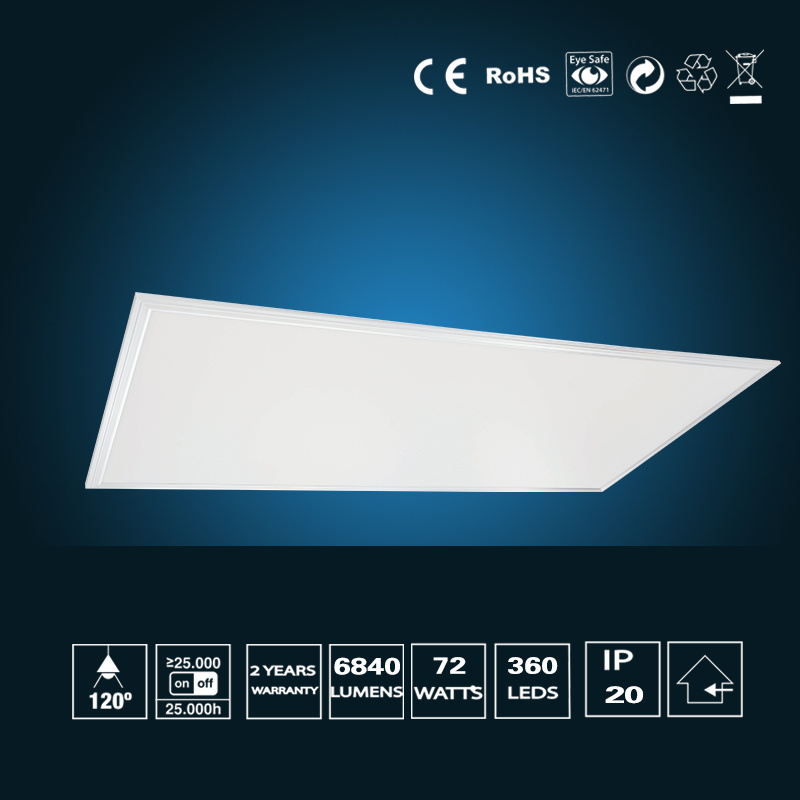 72W LED Panel Light 595*1195mm