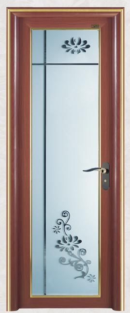 China Small Size Two Panel Aluminum Folding Bathroom Doors - China ...