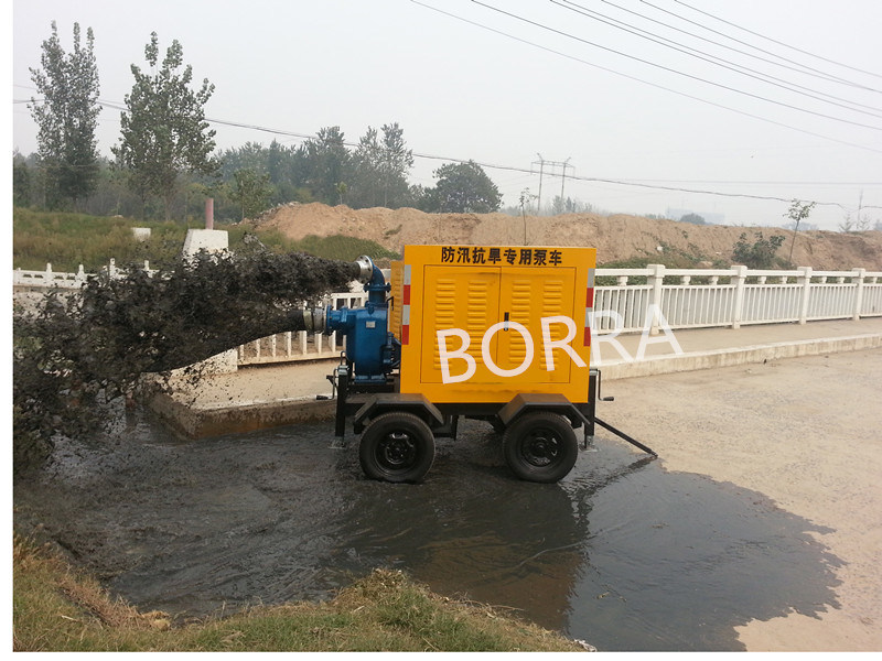 Mobile Diesel Engine Dewatering Water Pump