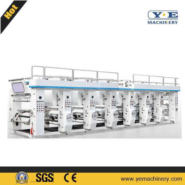 Middle Speed Rotogravure Printing Machine (YEMS Series)