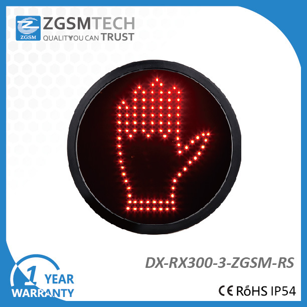 300mm Red Hand Aspect LED Signal Modules