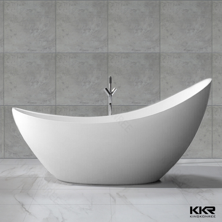 Sanitary Ware Freestanding Bath Stone Resin Bathroom Bathtub