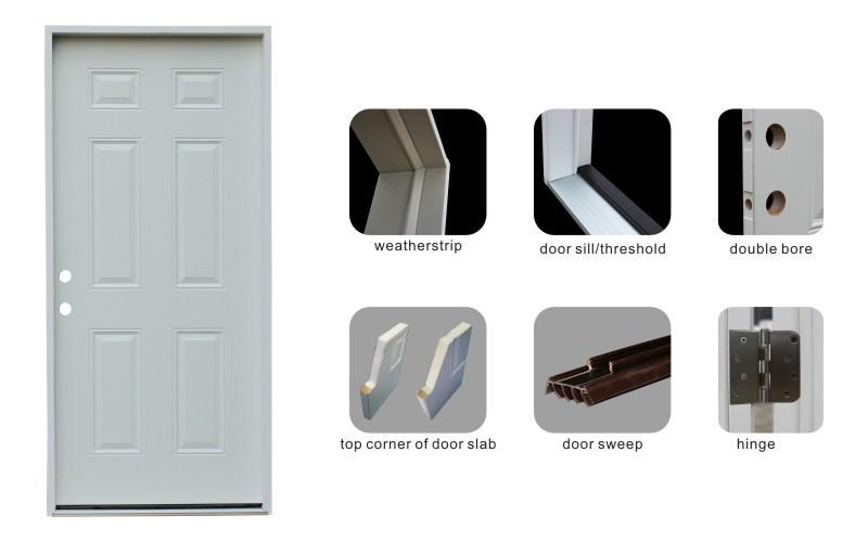 Exterior Prehung Steel Door Designs