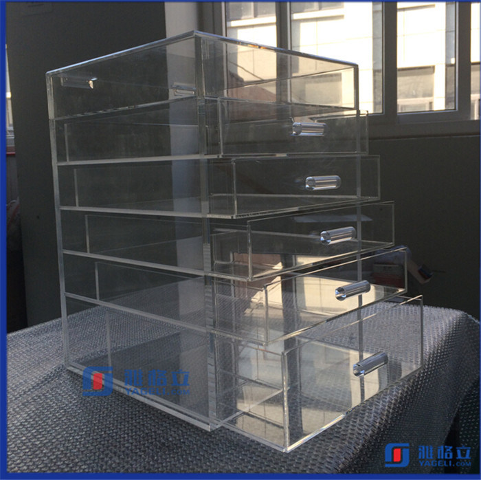 Large Vanity Impressions Acrylic Make up Storage Box